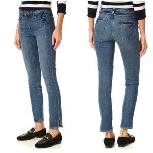 Paige Hoxton Ankle Peg Beachwood Skinny Jeans